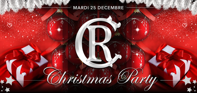 Mardi 25 décembre – Christmas Party