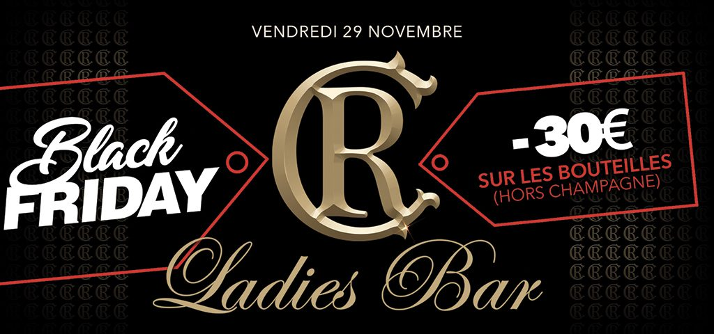 Ladies Bar Black Friday