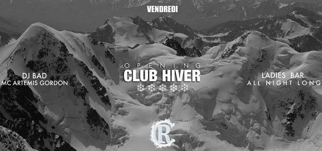 Opening CLUB HIVER